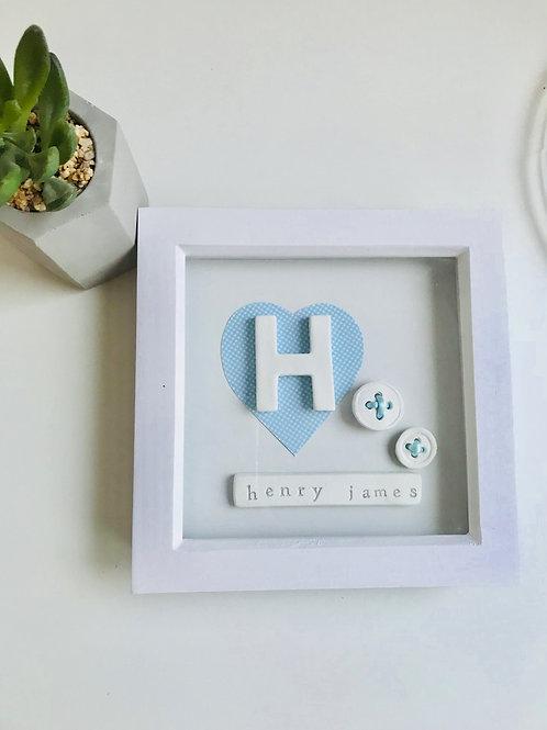 Nursery initial frame