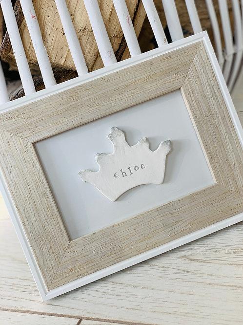 Princess crown frame