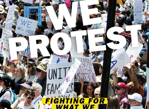 We Protest by Tish Lampert