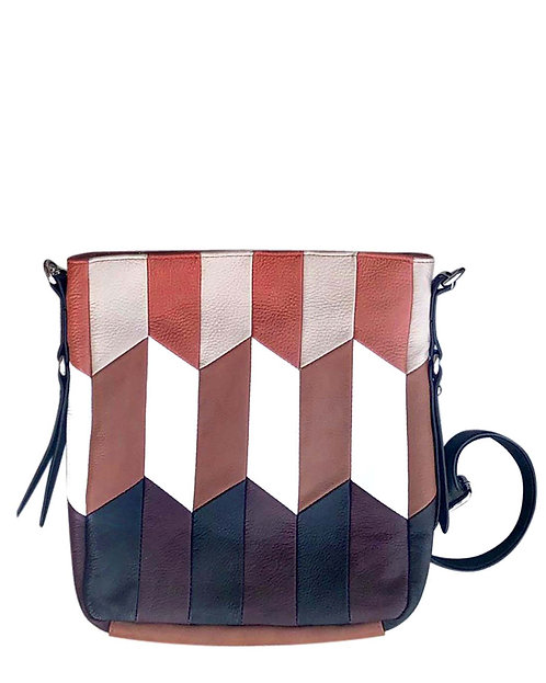 Patchwork Leather Concealment Purse