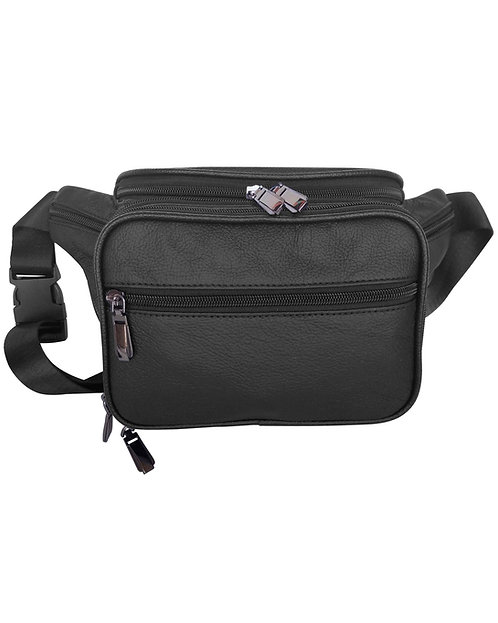 Square Pocket Fanny Pack with Organizer