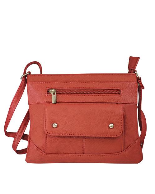 Studded Pocket Crossbody Bag