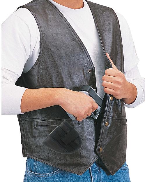 Leather Concealment Vest