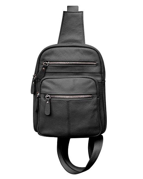 Modern Leather Sling Bag