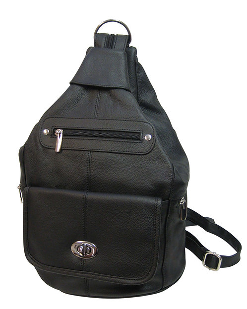 Twist Lock Convertible Backpack