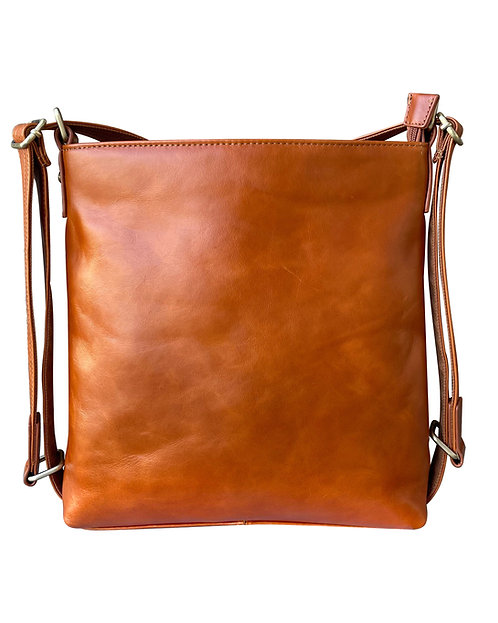 Wax Leather Satchel/Backpack