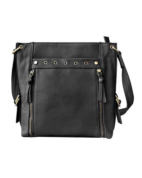 Cowhide Leather Satchel/Purse