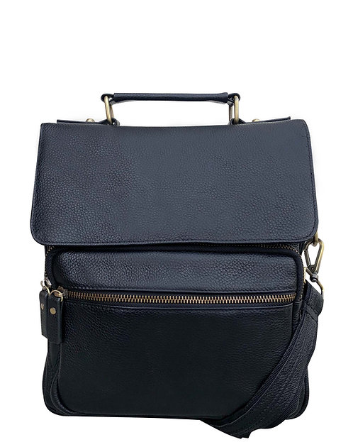 Classic Leather Concealment Satchel