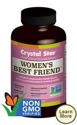 Crystal Star Womens Best Friend