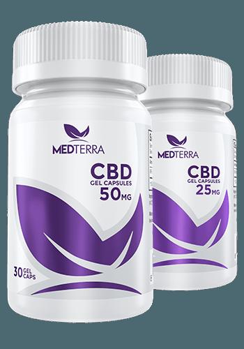 Medterra CBD gel-capsules