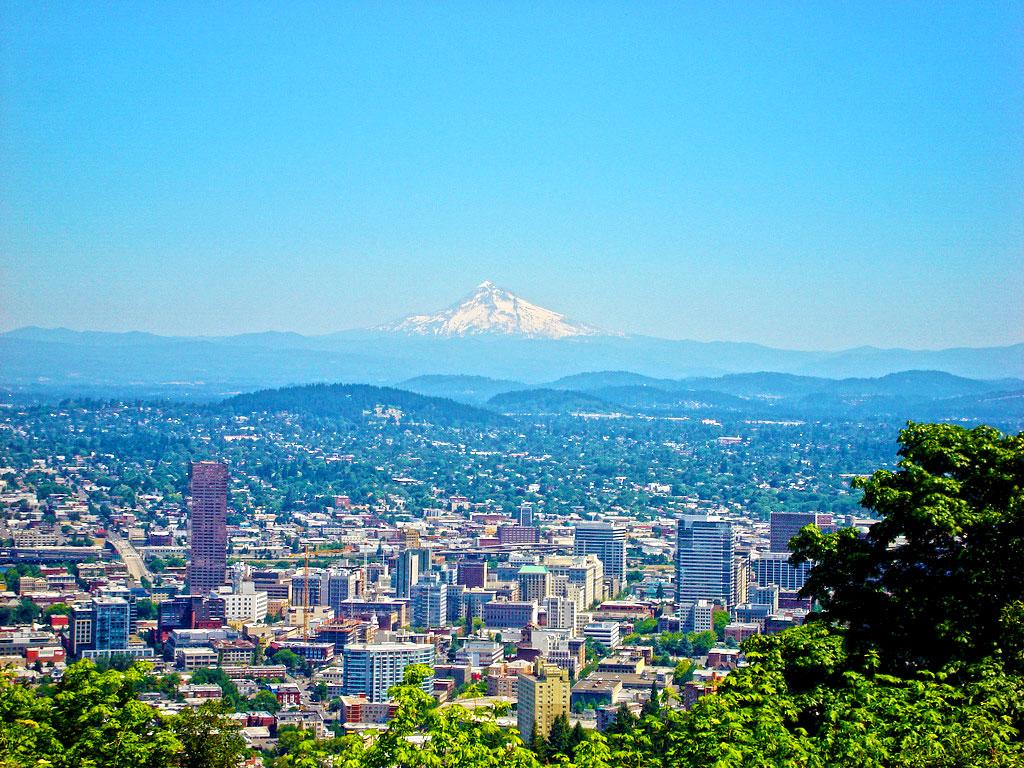 Portland_and_Mt. Hood Oregon