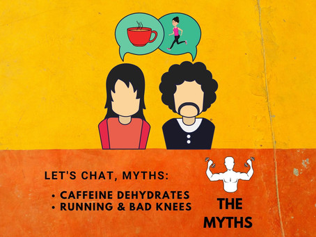Running gives you BAD KNEES! + Caffeine dehydrates!