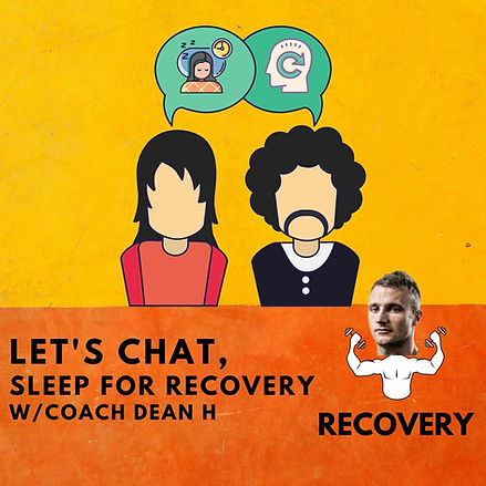 Let's Chat, Sleep For Recovery.jpg