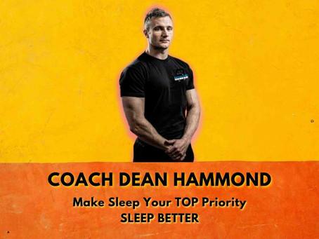 Make Sleep Your TOP PRIORITY - Sleep Better!