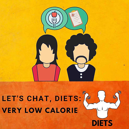 podcast, diets, very low calorie, logo.j