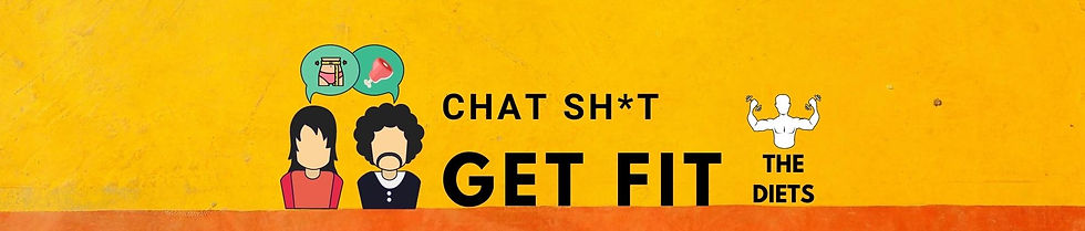 chat sh*t get fit podcast diets main logo