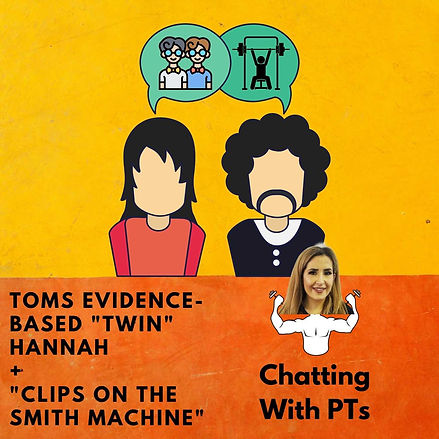 Toms Evidence-Based Twin Hannah + Clips