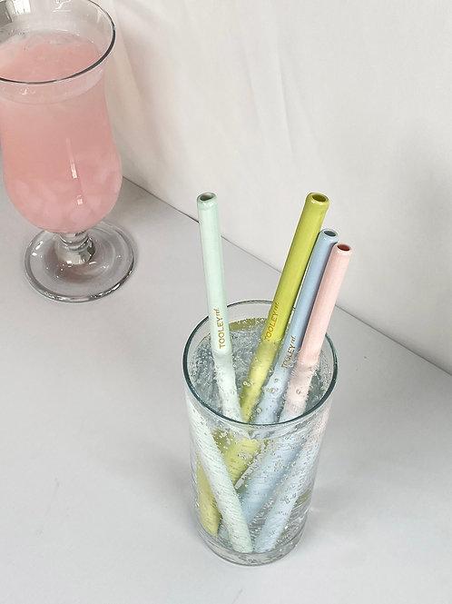 TOOLEY Ref. Eco-friendly Reusable Ceramic Straw [  B-grade ]