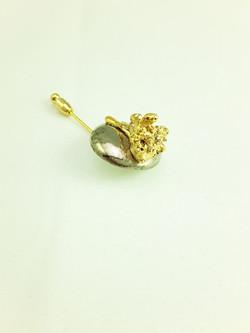 Wildflower Brooch Pin