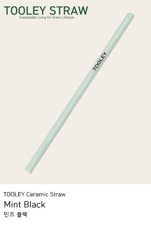 TOOLEY Ceramic straw Mint Black 툴리 세라믹스트로 민트블랙
