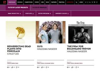 OOW on Arts Thread webpage