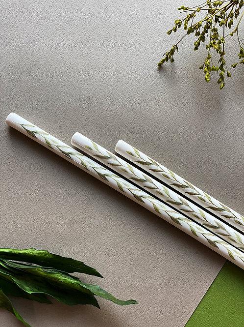 TOOLEY Ceramic straw Leaf Green 툴리 세라믹스트로 리프그린