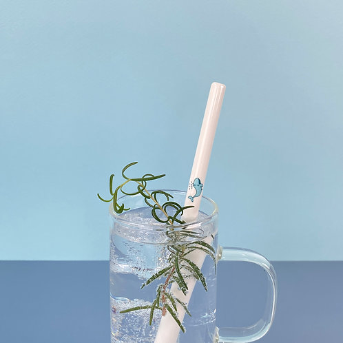 TOOLEY Ceramic straw Pacific Whale 툴리 세라믹스트로 퍼시픽 웨일