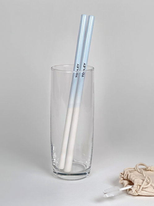 TOOLEY Ceramic straw  Candy Blue 툴리 세라믹스트로 캔디블루
