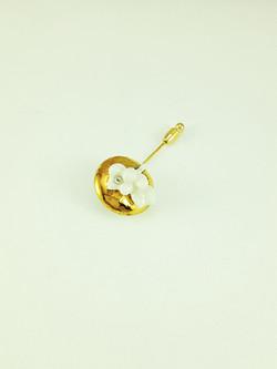 Verbena Brooch Pin