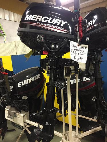 2017 Mercury 3.5 hp