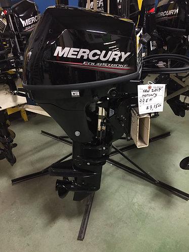 2017 Mercury 9.9 hp
