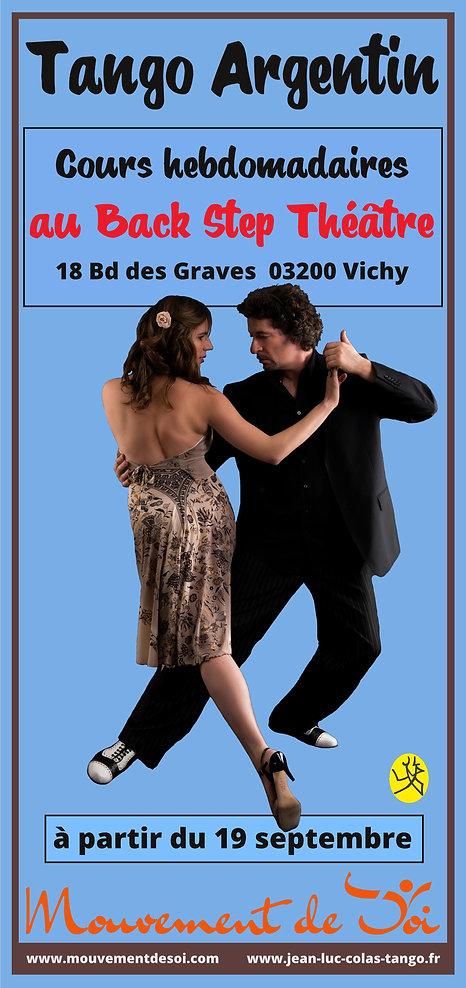 Flyer cours Vichy 2018 19 recto 210 99.j
