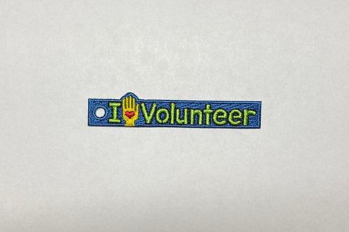 I love volunteer