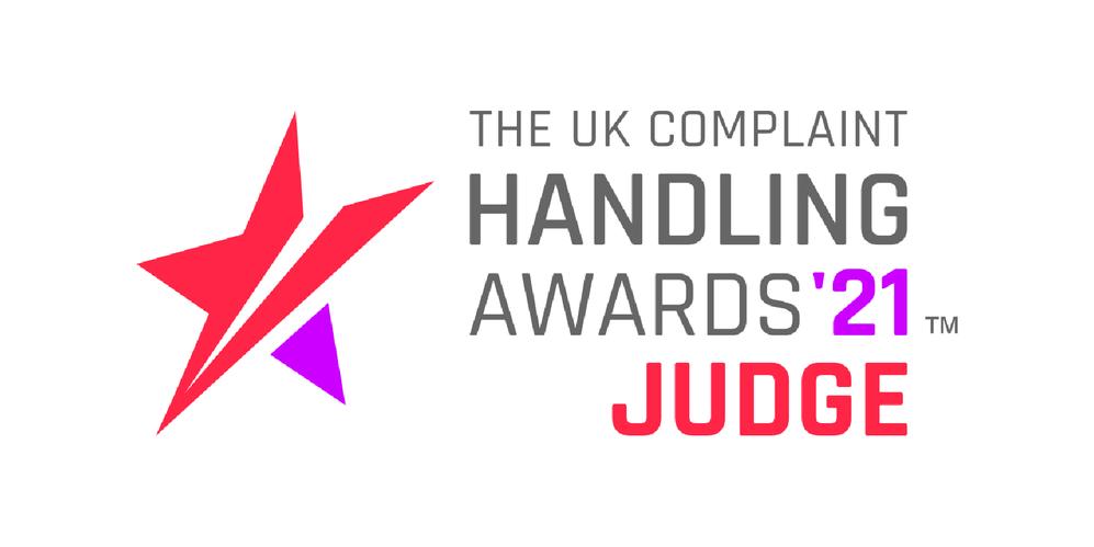 UK Complaints Handling Awards Judges Badge