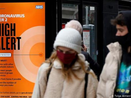 Reino Unido: virtualmente aislado por el brote de una nueva cepa más contagiosa de coronavirus