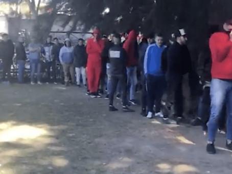 Desbarataron fiesta clandestina en La Matanza: había 150 personas, juego ilegal y dos policías