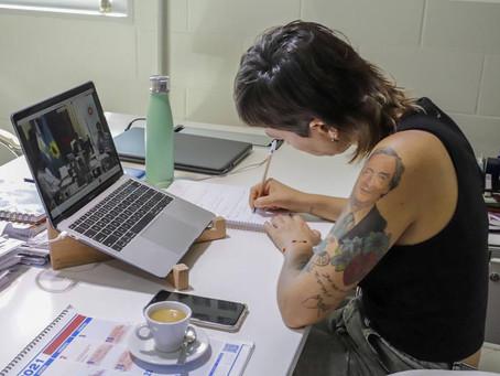 Mayra en reunión virtual con Kicillof e intendentes evaluaron medidas para frenar la segunda ola