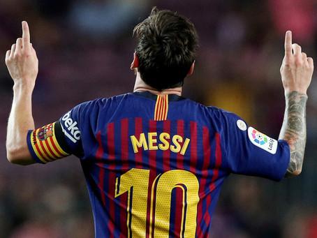 """Messi: """"Voy a seguir porque la única manera de salir era pagando la cláusula y eso es imposible"""""""