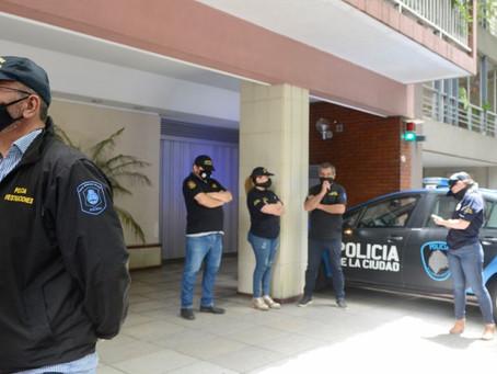 Allanaron la casa de un empleado de Matías Morla que estuvo en el country cuando murió Maradona