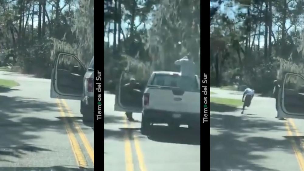Impactante video: así fue el brutal asesinato a un joven que salió a correr