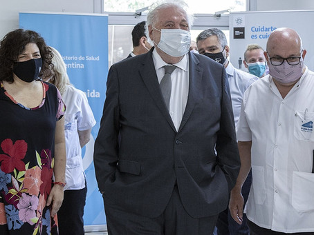 """Arrancó la segunda etapa de la vacunación: Ginés dijo que el país """"se aseguró 51 millones de dosis"""""""