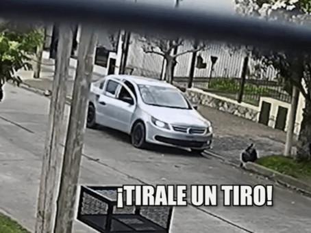 """Vecino fue asaltado, les golpeó el auto y le dispararon: """"Pienso en mis hijos y hago la autocrítica"""""""