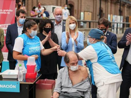"""Alberto Fernández: """"En la lucha contra la pandemia vamos por el camino correcto"""""""
