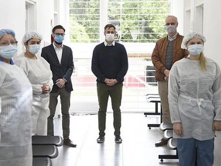 Más de 17.000 profesionales de salud bonaerense cursan la capacitación para vacunar contra el Covid