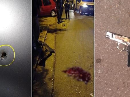 Murió el otro delincuente baleado por un oficial de la Policía Federal tras un asalto y tiroteo