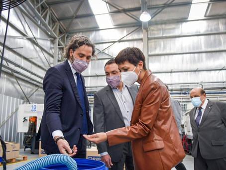 Mayra junto a Cafiero y Kulfas: anunciaron nueva línea de créditos para digitalización de Pymes