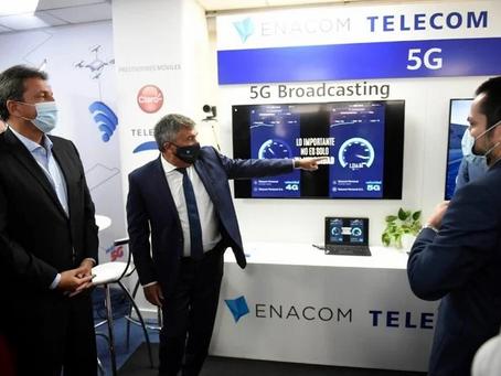 Cafiero y Massa remarcaron la importancia de la tecnología 5G para la sociedad y la industria