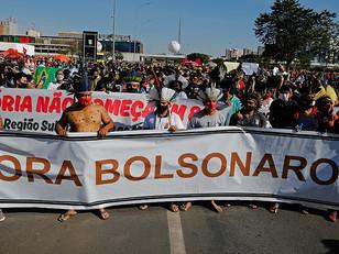 Medio millón de muertos en Brasil: miles de manifestantes pidieron la renuncia de Bolsonaro