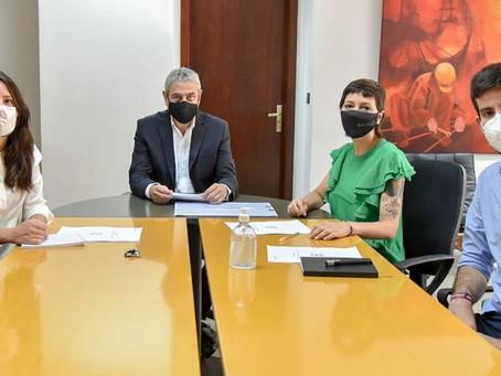 Mayra se reunió con el ministro Ferraresi para avanzar con los proyectos de vivienda en Quilmes