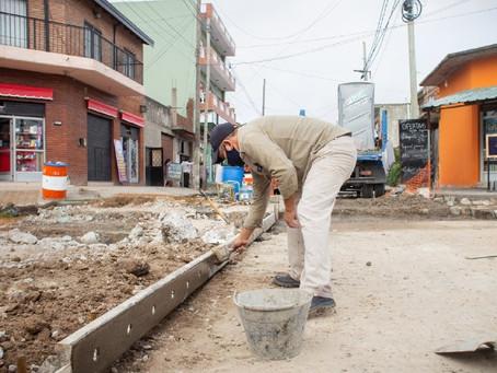 El Municipio de Quilmes avanza con las obras de pavimento en Bernal Oeste